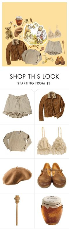 """he's winnie THE pooh"" by private-school-bully ❤ liked on Polyvore featuring Gap, Acne Studios, H&M, Steiff, giorgio d'alessandro and Crate and Barrel"