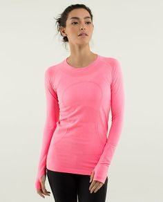 Run: Swiftly Tech Long Sleeve size 10 http://shop.lululemon.com/products/clothes-accessories/tops-long-sleeve/Run-Swiftly-Tech-LS-32870?cc=3151&skuId=3534328&catId=tops-long-sleeve