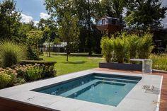 AuBergewohnlich Ein Pool Trotz Kleinem Garten Ist Durchaus Möglich. Delfin Wellness  Präsentiert Den Swimmingpool Für Das