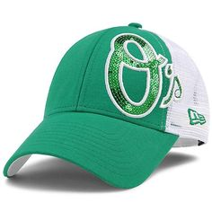 Orioles Ladies St. Patrick's Day Sequin Shimmer 9FORTY by New Era - $23.99