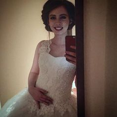 I'm thinking about becoming a professional... Bride. #shooting #marriage #actress