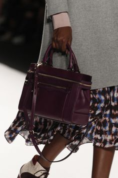 Rebecca Minkoff Fall 2014. The perfect fall bag? I think so.