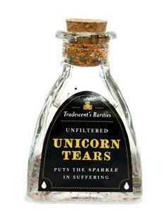 Halloween apothecary unicorn tears glitter LOL