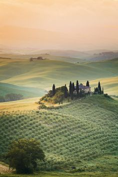 Val d'Orcia, Tuscany, Italy | by Reinhold Samonigg