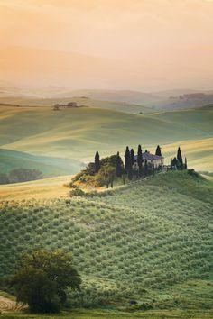 Val d'Orcia, Tuscany, Italy | by Reinhold Samonigg