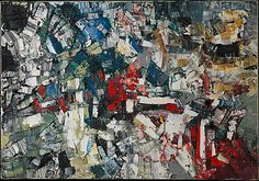 Untitled, Jean-Paul Riopelle, 1957 Again, these are paintings that must be seen in real life in order to truly appreciate them. They are incredible! Canadian Painters, Canadian Art, Quebec, Oil Painting Techniques, Mosaic Patterns, Modern Art, Contemporary, Abstract Expressionism, Painting Inspiration