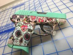 A shop in Texarkana, Texas, has been making fans on social media for the unique coating system it utilizes to adorn firearms with custom designs.