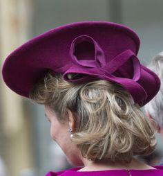 Queen Mathilde, Nov. 8, 2013 in Fabienne Delvigne | The Royal Hats Blog