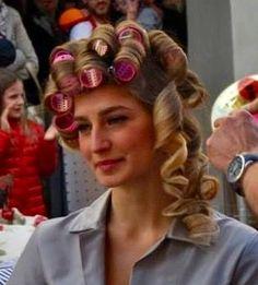 deroulage mise en plis cheveux long