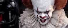 Bill Skarsgård as Pennywise the Dancing Clown Pennywise Lives! Featurette.