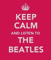 keep calm and feel the beat