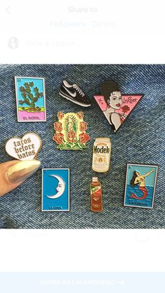 Limited edition 1 to 1 inch enamel pins sold separately mix X match Pin And Patches, Iron On Patches, Jacket Pins, Cool Pins, Metal Pins, Stickers, Soft Grunge, Pin Badges, Lapel Pins