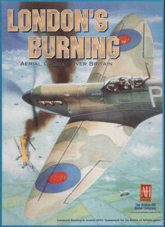 As a solitaire game, London's Burning place you in command of a pair of RAF fighters in southeast England defending targets against Luftwaffe's bombers. 2 to 8 hours. Avalon Game, Avalon Hill, Solitaire Games, Board Games For Kids, Battle Of Britain, Luftwaffe, Ww2, London