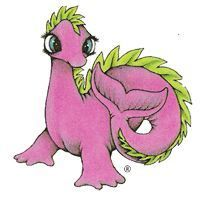 Serendipity the Pink Dragon [VHS]   Kid Movies & Shows   Pinterest ...