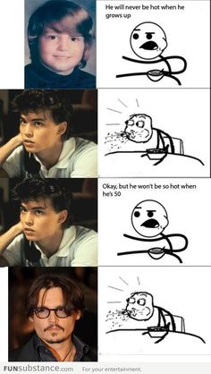 Johnny's evolution