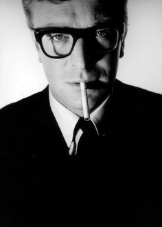 Michael Caine, photographed by David Bailey (1965)