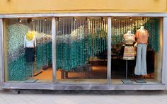 Latest Wallpapers: Retail Window Dressing by Anthropologie.