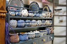 Ceramics ❦❧ | Bunzlau Castle Polish pottery