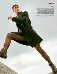Various Editorials - A Fresh Coat - GQ South Africa
