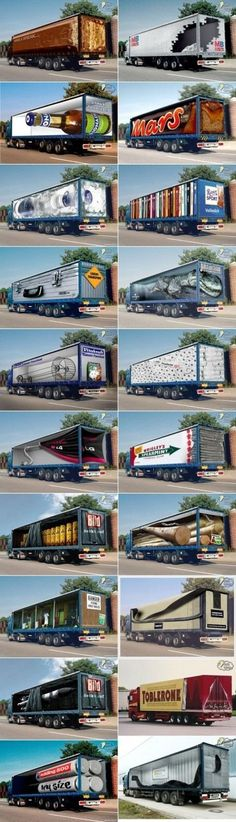 Creative Truck Trailer annoncer
