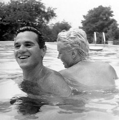 Milton Green & Marilyn Monroe swimming together. I've seen a lot of photo's from this sitting but I've never seen this one!