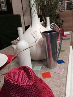 Table decor at the 2014 Port Elizabeth HOMEMAKERS Expo