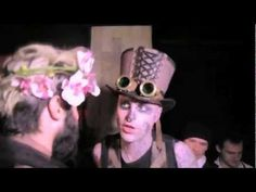Zombie Boy Rick Genest in D*Lux Hallowwen party! a film by Richard Gorn. Зомби Бой Рик Генест В Делюксе Хеллоуин Пати! Фильм Ричарда Горна! Оператор-Николая ...