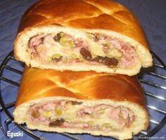Recetas de Cocina (Recetas de Navidad): Pan de Jamon.