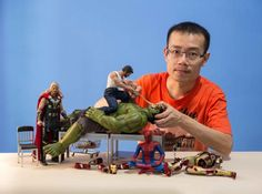 Edy Hardjo Uses Superhero Action Figures To Create Hilariously Arranged Photo Scenes | Shutterbug