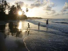 I heart beach (Cahuita, Costa Rica) #familytravel #costaricawithkids