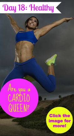 Are you a cardio queen? Click the image for more!