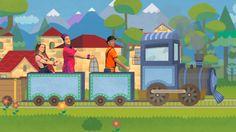 Viajar en tren - canción Pica Pica