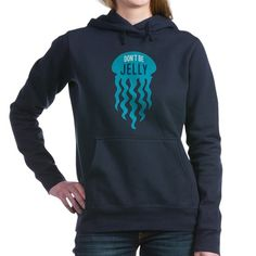 biology puns Dont Be Jelly Jellyfish Pun - Great humorous hoddie for the marine biologist or oceanographer. This funny marine biology pun with jellyfish design says: Dont Be Jelly. Biology Humor, Chemistry Jokes, Grammar Humor, Science Jokes, Marines Funny, Song Words, Hooded Sweatshirts, Hoodies, Marine Biology