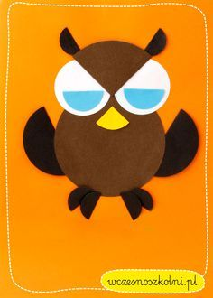 origami z kółek Crab Crafts, Bird Crafts, Diy And Crafts, Circle Crafts, Circle Art, Diy For Kids, Crafts For Kids, Paper Shaper, Shapes Worksheets