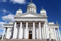 Vaaleanpunainen hirsitalo | Idealista Finland, Taj Mahal, Building, Travel, Viajes, Buildings, Destinations, Traveling, Trips