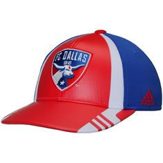 purchase cheap b1f0c 15f8a Men s FC Dallas adidas Red Authentic Team Structured Adjustable Hat, Your  Price   25.99