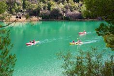www.masqueaventura.es kayak,lago de bolarque