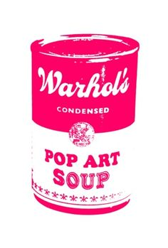 Warhol's Pop Art Soup Limited Edition Print by William Blanchard