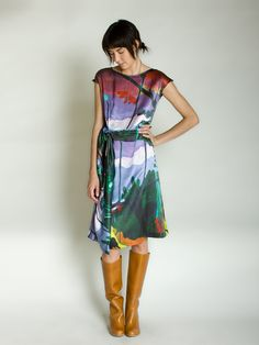 This look is perfect.  dress by united bamboo - totokaelo