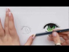 Draw Eyes Realistic How To Draw Anime Eyes - Tutorial. Realistic Eye Drawing, Manga Drawing, Manga Art, Manga Tutorial, Eye Tutorial, Drawing Techniques, Drawing Tips, Drawing Ideas, How To Draw Anime Eyes