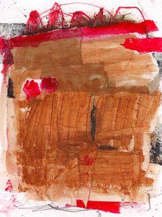 """Untitled"" Mixed Media Painting by Marie Bortolotto"