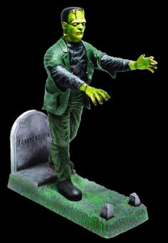 Monster+Model+Kits | ... THIS WAS THE FEAR THAT WAS . . . AURORA FRANKENSTEIN PLASTIC MODEL KIT