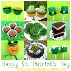 lots of cute ideas, love the Pot O' Gold Donut Hole Pops