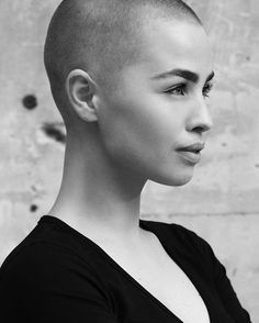 jax after she shaved her head