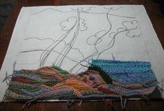 Outstanding Crochet: Freeform Crochet. Crochet Paintings from Anna Saifulina.
