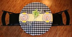 Yellow Backyard Picnic Date table setup by American Event Rentals