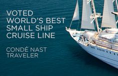 Windstar Cruises Voted World's Best Small Ship Cruise Line by Conde Nast Traveler