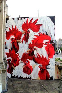 STREET ART Graffiti / street art , Urban art .. lets just call it ART.. https://www.etsy.com/shop/urbanNYCdesigns?ref=hdr_shop_menu