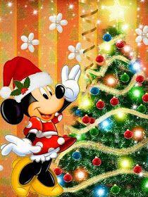 Edible Paper in Creatividades: Christmas Disney Disney Merry Christmas, Minnie Mouse Christmas, Mickey Mouse And Friends, Mickey Minnie Mouse, Christmas Art, Christmas Greetings, Christmas Friends, Xmas, Disney Mickey