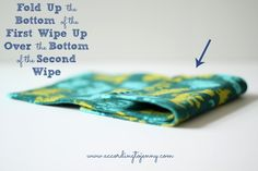 how to make cloth wipes pop up